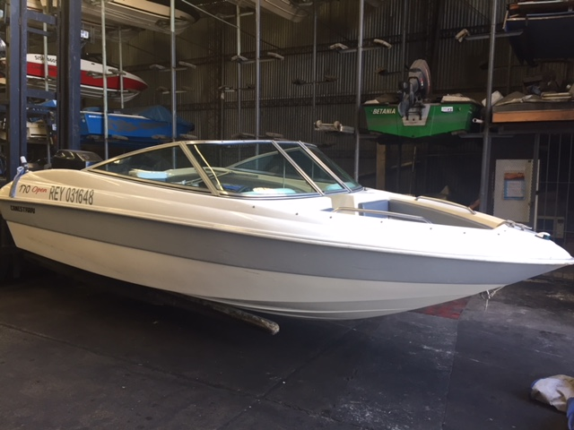 Canestrari 170 open 1999 Mercury 125 hp